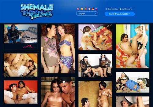 Shemale Thrills